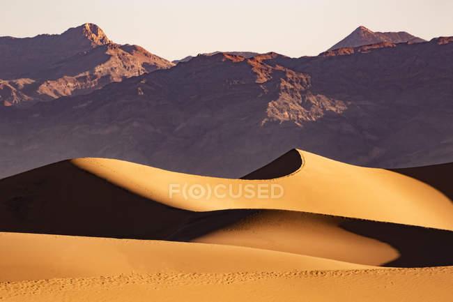 États-Unis, Californie, Death Valley, Death Valley National Park, Mesquite Flat Sand Dunes — Photo de stock