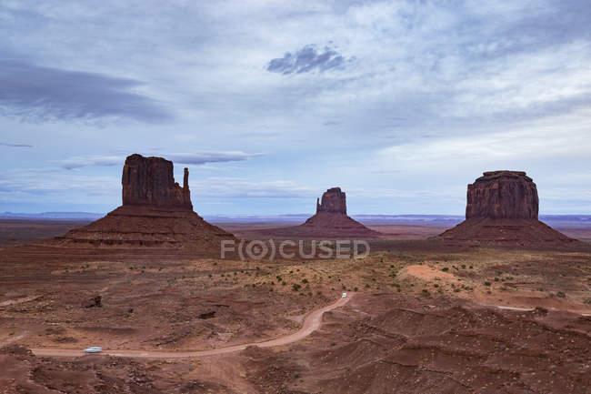 Estados Unidos, Arizona, Nación Navajo, Monument Valley - foto de stock