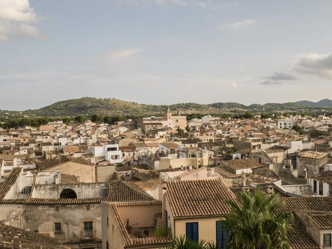 Іспанія, АРТА, вид на місто — стокове фото