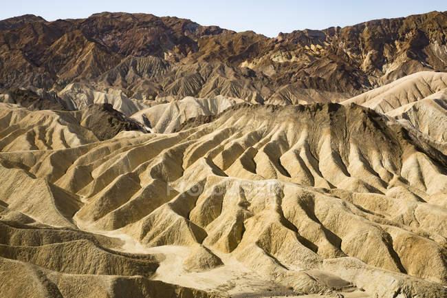 USA, Californien, Death Valley, Death Valley National Park, Zabriskie Point — стокове фото
