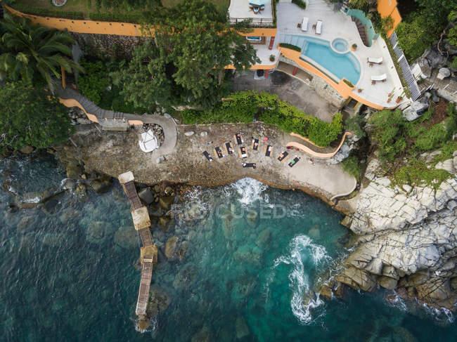 Messico, Jalisco, Mismaloya vicino Puerto Vallarta, Ritiro yoga di lusso — Foto stock