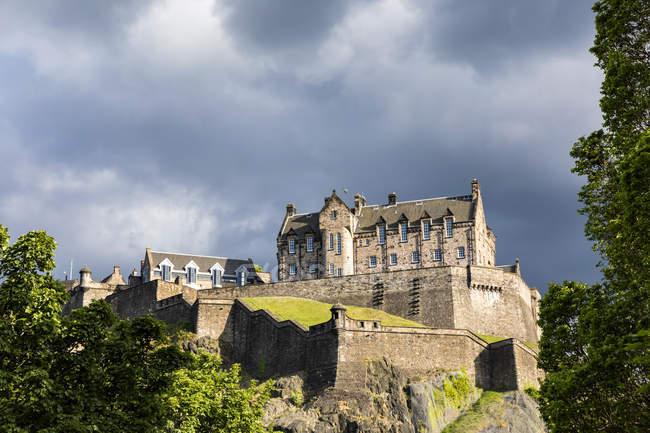 Gran Bretagna, Scozia, Edimburgo, Castle Rock, Edinburgh Castle — Foto stock