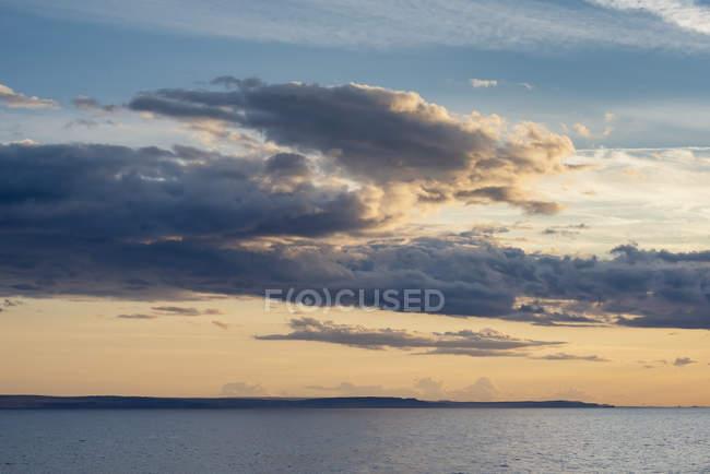 Royaume-Uni, Écosse, Highland, ambiance nuageuse en soirée — Photo de stock