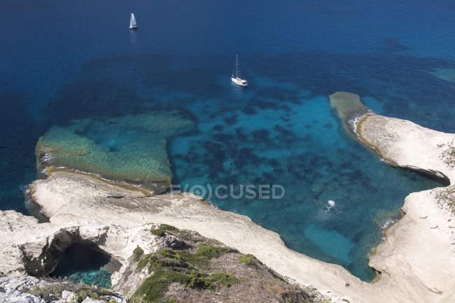 Corsica, Mediterranean coast at daytime — Stockfoto