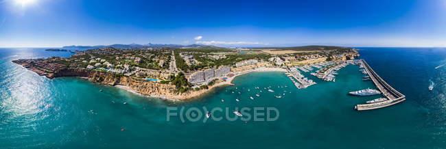 Spain, Balearic Islands, Mallorca, El Toro, Port Adriano — Fotografia de Stock