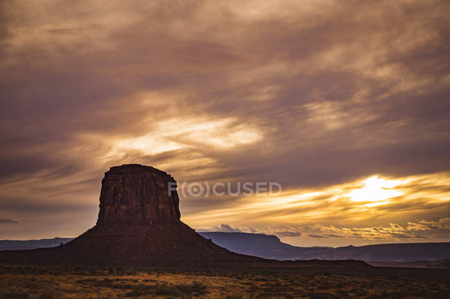 EUA, Arizona, Nação Navajo, Monument Valley — Fotografia de Stock