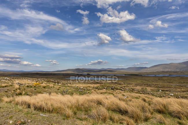 Great Britain, Scotland, Scottish Highlands, Glencoe, Rannoch Moor, Loch Beinn Chaorach and Loch Ba — Stock Photo