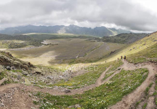 Росія, Верхня долина Баксан, Кавказ — стокове фото