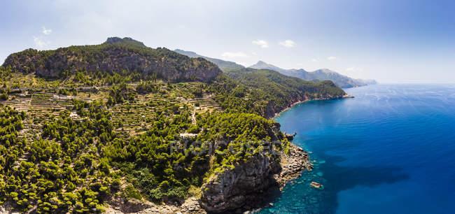 Spagna, Baleari, Maiorca, Regione Andratx, Costa occidentale, Serra de Tramuntana — Foto stock