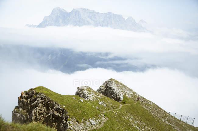 Австрія, Південний Тироль, пішохідний маршрут — стокове фото