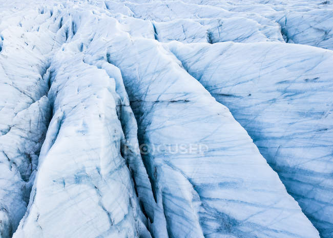 Islanda, Vatnajoekull National Park, Jokulsarlon, ghiaccio del ghiacciaio — Foto stock