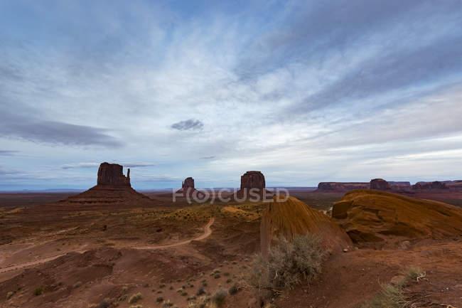USA, arizona, navajo nation, monumentales tal — Stockfoto