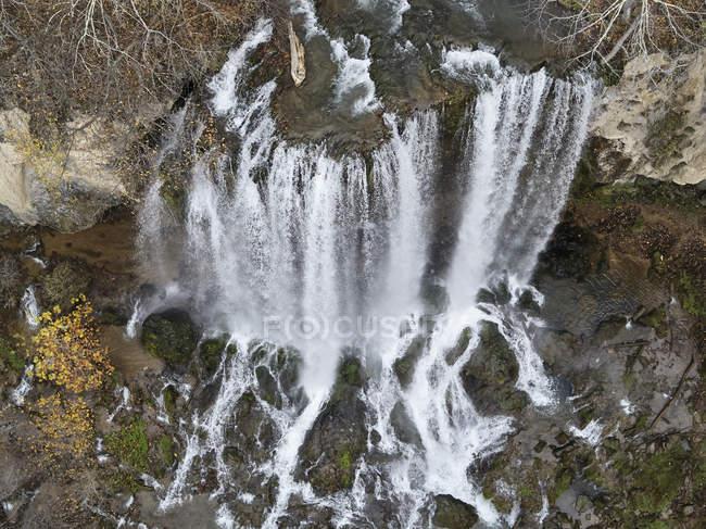 Etats-Unis, Virginie, Falling Springs Waterfall — Photo de stock