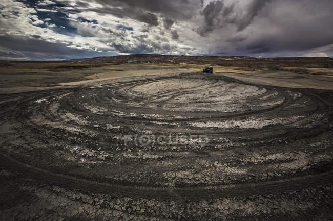 États-Unis, Arizona, Jeep dans la région du lac Powell — Photo de stock