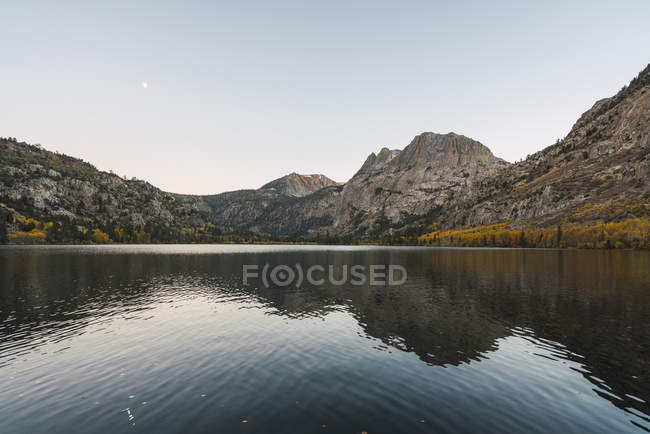 Stati Uniti, California, Yosemite National Park, Mammoth Lakes, Silver Lake — Foto stock