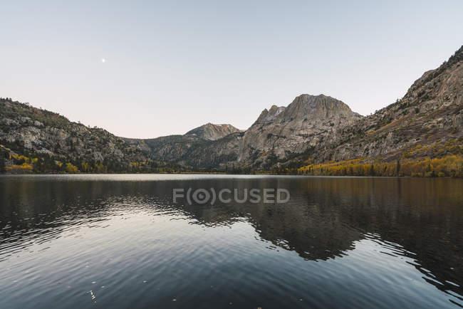 USA, California, Yosemite National Park, Mammoth Lakes, Silver Lake — Stock Photo