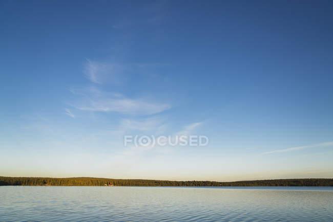 Lake near Kiruna, Lapland, Sweden — Stock Photo