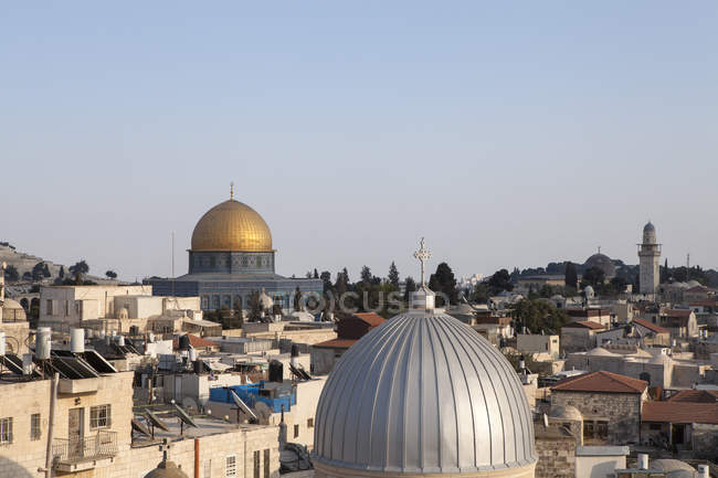 Israel, Jerusalem, cidade velha, abóbada das rochas — Fotografia de Stock