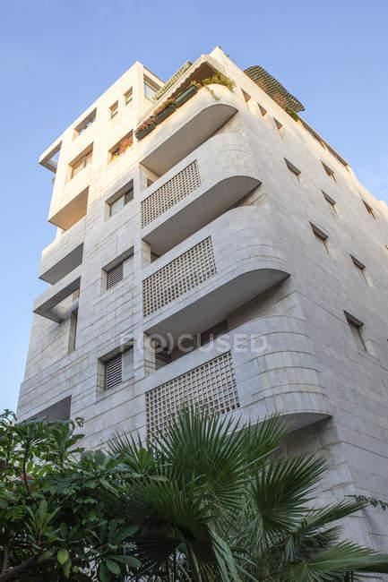 Israele, Tel Aviv, White City, Rothschild Boulevard, Bauhaus style, Acum Haus — Foto stock