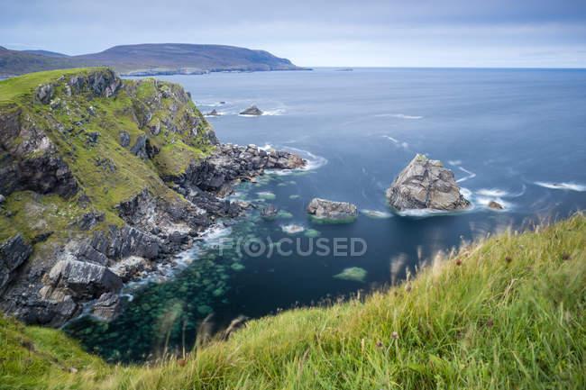 Royaume-Uni, Écosse, Highland, North Coast 500, Faraid Head près de Durness — Photo de stock