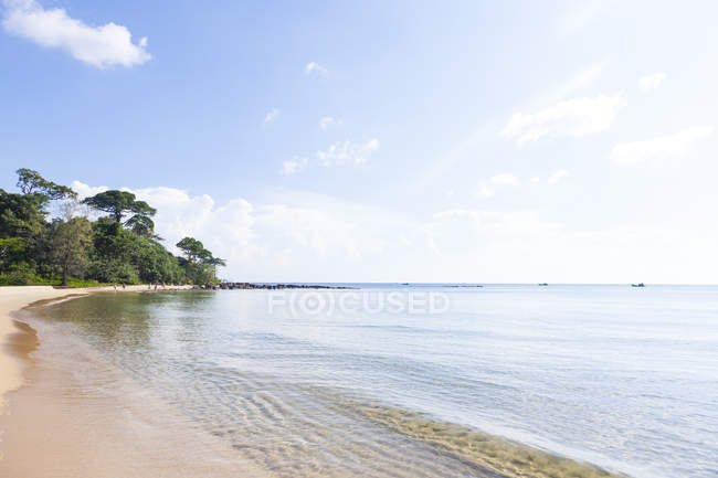 В'єтнам, фукуок, пляж в денний час — стокове фото