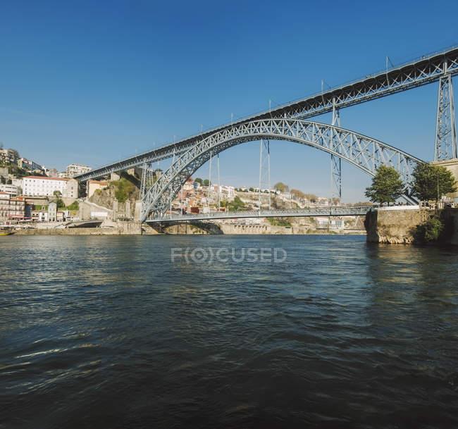 Portogallo, Porto, Ponte Luiz I — Foto stock