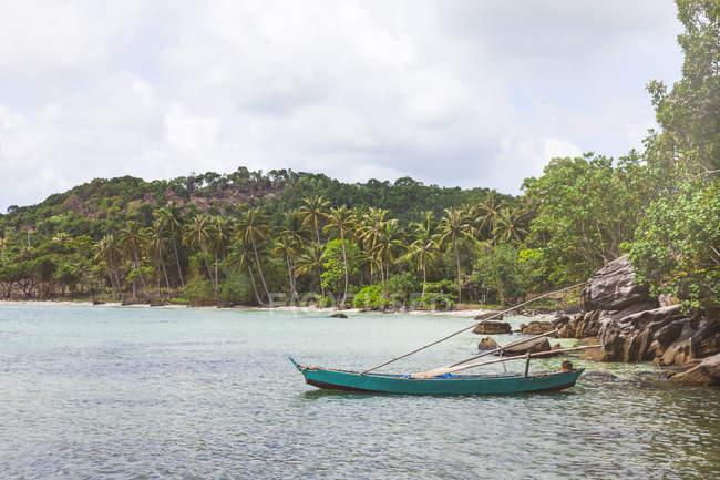 Vietnam, Phu Quoc, peschereccio — Foto stock