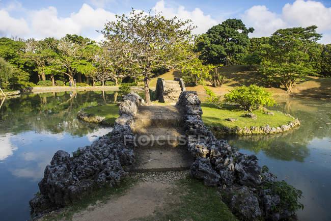 Japan, Okinawa, Shikina-en Garden — Stock Photo