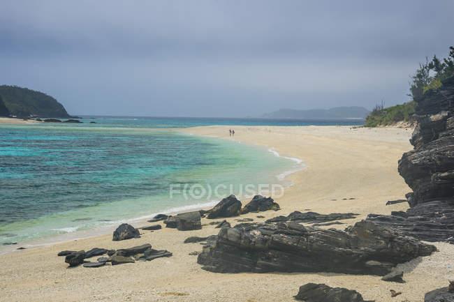 Giappone, Isole Okinawa, Isole Kerama, Isola di Zamami, Mar Cinese Orientale, Spiaggia di Furuzamami — Foto stock