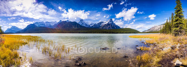 Canada, Alberta, Waterfowl Lakes, Icefields Parkway — Stock Photo