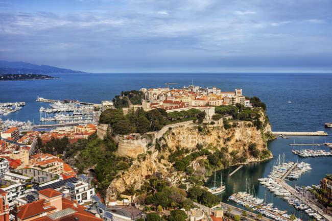 Fürstentum Monaco, Monaco, Monaco City, Le Rocher — Stockfoto