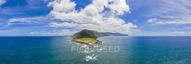 Estados Unidos, Haswaii, Waialua, Kaena Point State Park - foto de stock