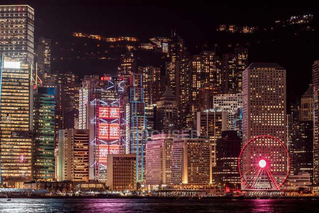 Гонконг, Чімсачей, міський пейзаж — стокове фото