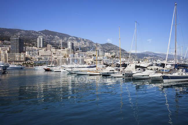 Principado de Mónaco, Mónaco, Montecarlo, Marina - foto de stock