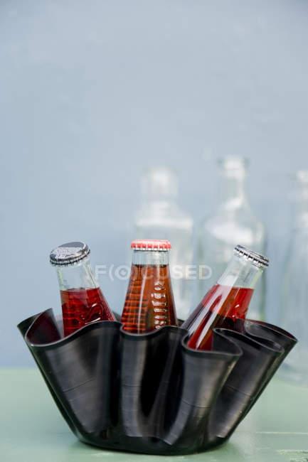 Восходящая пластинка используется в качестве чаши — стоковое фото
