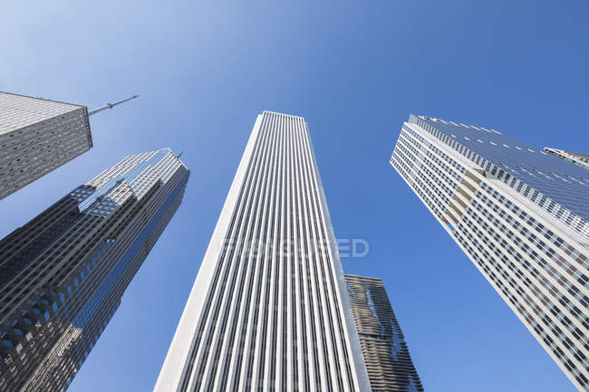 Usa, Illinois, Chicago, Aon Center - foto de stock