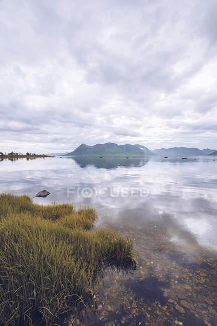 Norvegia, Senja, paesaggio costiero — Foto stock