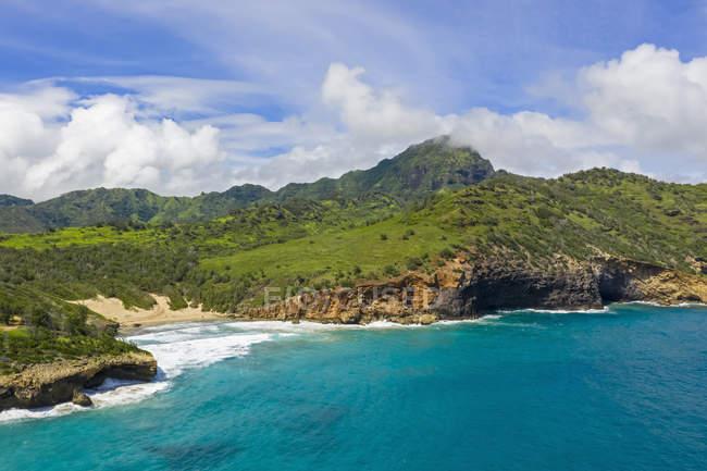 Stati Uniti, Hawaii, Kauai, Kamala Point — Foto stock