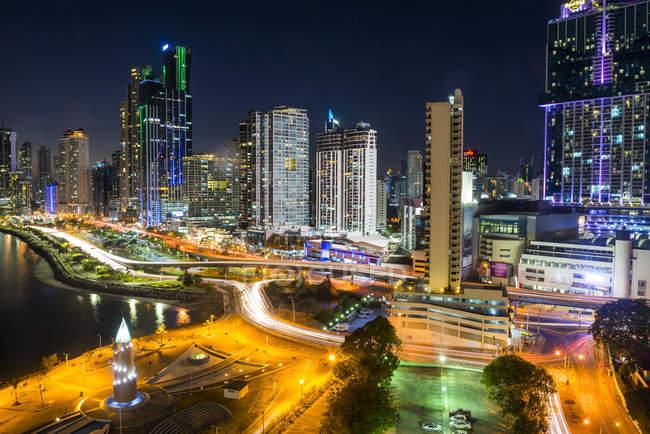 Panamá, Cidade do Panamá, horizonte — Fotografia de Stock