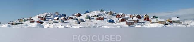 Гренландия, Кулусук днем — стоковое фото