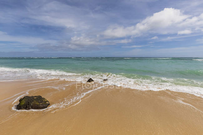 Stati Uniti, Hawaii, Oahu, Ka'O'lo Point, spiaggia — Foto stock