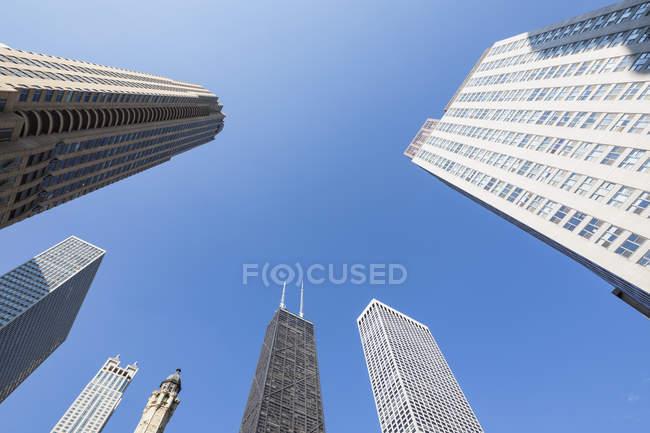 Estados Unidos, Illinois, Chicago, John Hancock Center - foto de stock
