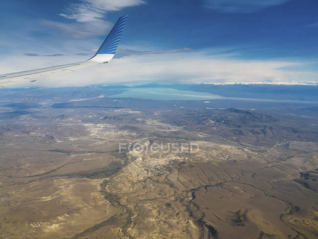 Argentina, El Calafate, vista do Lago Argentino — Fotografia de Stock