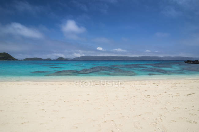 Japan, Okinawa Islands, Kerama Islands, Zamami Island, East China Sea, Furuzamami Beach — Stock Photo