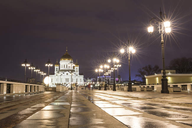 Russia, Moscow, Cathedral of Christ the Saviour — Stock Photo