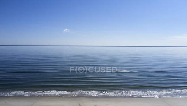 USA, Nordkarolina, Atlantik treffen die Küste der äußeren Ufer — Stockfoto