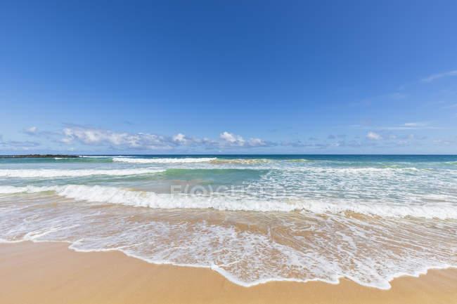 Estados Unidos, Hawaii, Kauai, Kealia Beach - foto de stock