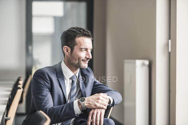 Портрет успішного бізнесмена. — стокове фото