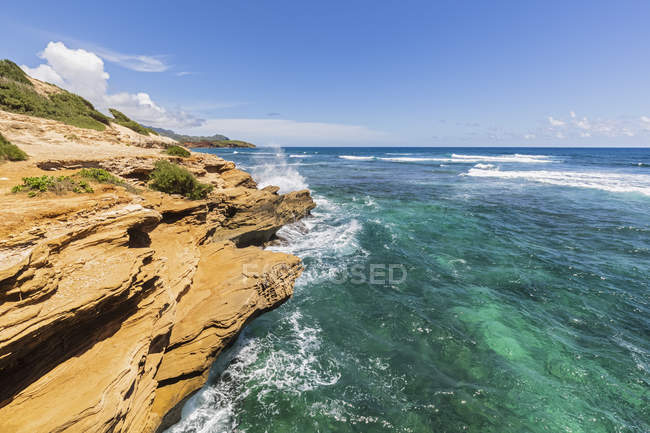 USA, Hawaii, Kauai, costa al Maha'ulepu Heritage Trail — Foto stock