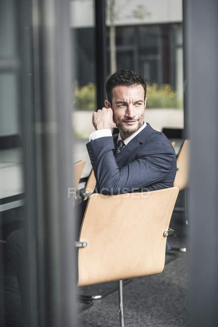 Portrait d'un homme d'affaires prospère — Photo de stock